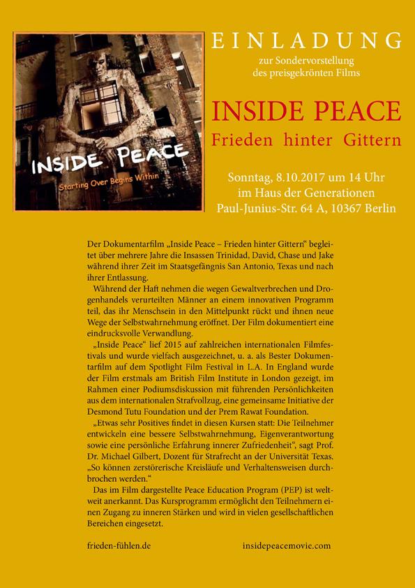 Inside Peace-Friedens-Bildungs-Programm-Der Film